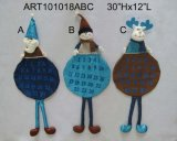 Santa, Snowman et Moose Screen Cover Decoration Gift, 3 Asst