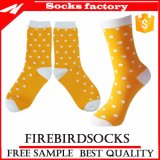 Счастливое платье МНОГОТОЧИЯ Socks изготовленный на заказ и оптовые дешевые носки