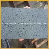 海南の暗い玄武岩のタイル、砥石で研がれた灰色の玄武岩、黒い玄武岩