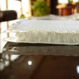 Calor - tela tratada da fibra de vidro 3D