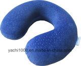 Suave material de felpa de espuma viscoelástica Almohada para cuello