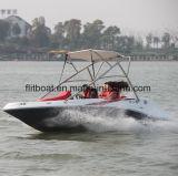 16FT Barco de jacto de fibra de vidro