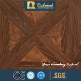 Étage insonorisant V-Grooved de Laminbate de chêne gravé en relief par 8.3mm de ménage