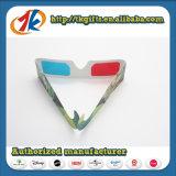 Lunettes 3D de promotion rouge bleu lunettes pour les ventes