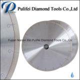 Le disque circulaire de faisceau de lame de soudure silencieuse de laser pour le découpage de pierre de marbre de granit scie la lame