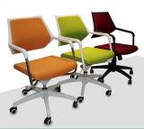 オレンジ白いフレームクラスタスタッフの事務員の網の椅子(HX-NCD500)