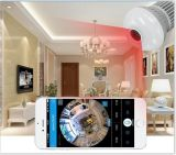 Neuester WiFi Glühlampe versteckter Fisheye IP-Kamera-Lieferant