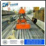 Ímã de levantamento para o lingote de aço de levantamento instalado no guindaste MW22