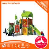 Campo da giuoco esterno della strumentazione del playhouse dei bambini con la trasparenza