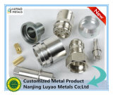 チタニウムの合金と機械で造る精密CNC