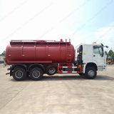 Sinotruk HOWO 4X2 20tの下水の吸引のトラック