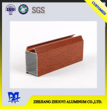 Os perfis de ligas de alumínio de madeira para fins decorativos