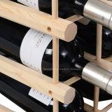 Vitrine de bois à vin