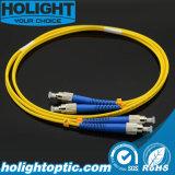 Двухшпиндельный шнур заплаты FC оптического волокна к FC однорежимные 3.0mm