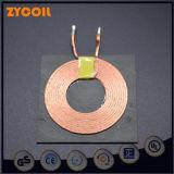 Cargador de móvil inalámbrica de cobre esmaltado de la bobina de inducción