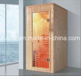 900mm de Stevige Houten Sauna van de Rechthoek voor Enige Persoon (bij-8631)