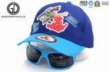 جديات طفلة شحّان قبعة أغطية مع رسم متحرّك شاشة طباعة & نظّارات شمس