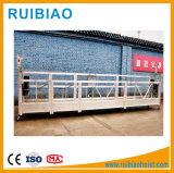 Plate-forme suspendue de corde en acier de construction d'outillage industriel