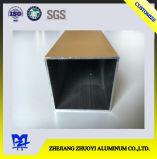 Квадратный алюминиевый профиль для двери, профиль a покрытия порошка алюминиевый