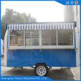 Ys-Fb200j 3.25m는 파란과 백색 음식 이동할 수 있는 음식 트레일러를 나른다