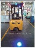 10W LED blaues Punkt-Licht für Materialtransport-LKW-Maschinerie