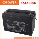 Wartungsfreie Gel-Batterie der China-Fabrik-12V100ah - Batterie USP, ENV