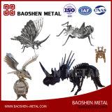 正確にカスタマイズされたLaerの切断の動物の金属のオフィス及びホーム装飾の彫刻の競争価格