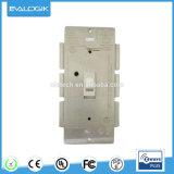 Z-Acenar o interruptor de ligar/desligar do Toggle da parede para a automatização Home