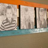 طفلة صور طباعة لا إطار نوع خيش طبعة لأنّ جدار بيتيّ