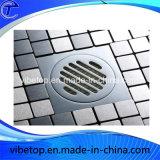 Fábrica de baño al por mayor de accesorios de acero inoxidable de piso Escurridor