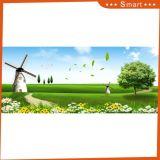 A pintura a óleo impressa Inkjet dos moinhos de vento para a decoração Home