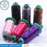 Beständiger 280d/3 gefärbter kleiner Nähgarn-Hochtemperaturnylongroßverkauf