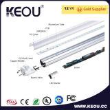 Indicatore luminoso del tubo di alta luminosità 4FT 18W 1200mm T8 LED