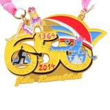 De Medaille van Runing van de Sport van het Email van de Herinnering van de Douane van de fabriek