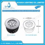 36watt IP68 impermeabilizan 12V la luz ahuecada subacuática inoxidable del acero LED