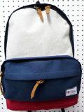 Form-Schule-Kursteilnehmer-Beutel mit der Baumwolle, die kampierenden Rucksack (#20019, wandert)