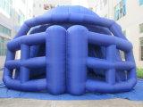 2017 Promoção Capacete Inflável Futebol túnel para jogo de desporto