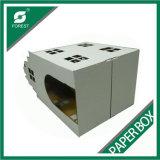 Custom Color Blanco gato portador caja del paquete en Shanghai