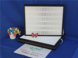El papel de fibra de vidrio Mini pliegues filtro de aire HEPA para ISO9001 TS16949
