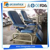Hospital de paciente de diálisis Uso Ajuste manual para sillas de donación de sangre