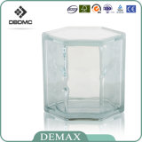 Diamond Straight Corner Hollow blocs de verre décoratifs avec China Factorywholesale blocs de verre