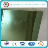 vidrio reflexivo unidireccional verde oscuro de 4m m