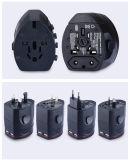 Adaptador elétrico simples e de conveniência, tomada de parede simples e de conveniência, soquete de conversão multifuncional