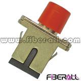 Sc a la PC del adaptador del metal de FC o al APC de fibra óptica