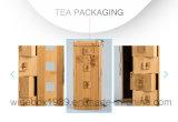 Contenitore di regalo impaccante carbonizzato amichevole del tè di bambù di Eco retro