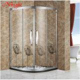 Chuveiro de vidro temperado com forma de diamante para chuveiro (022G)