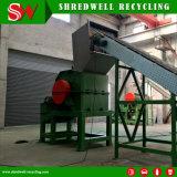 Triturador de martelo robusto da sucata do projeto original com eficiência elevada