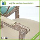 中国製純木の優秀で物質的な食事の椅子(ジェシカ)