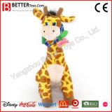 Brinquedo macio do Giraffe do bebê do animal enchido do luxuoso da alta qualidade