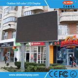 Al aire libre impermeabilizar la visualización de LED a todo color del vídeo de la INMERSIÓN P10